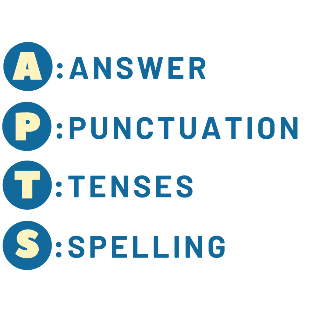 Techniques to ACE Primary English Examinations